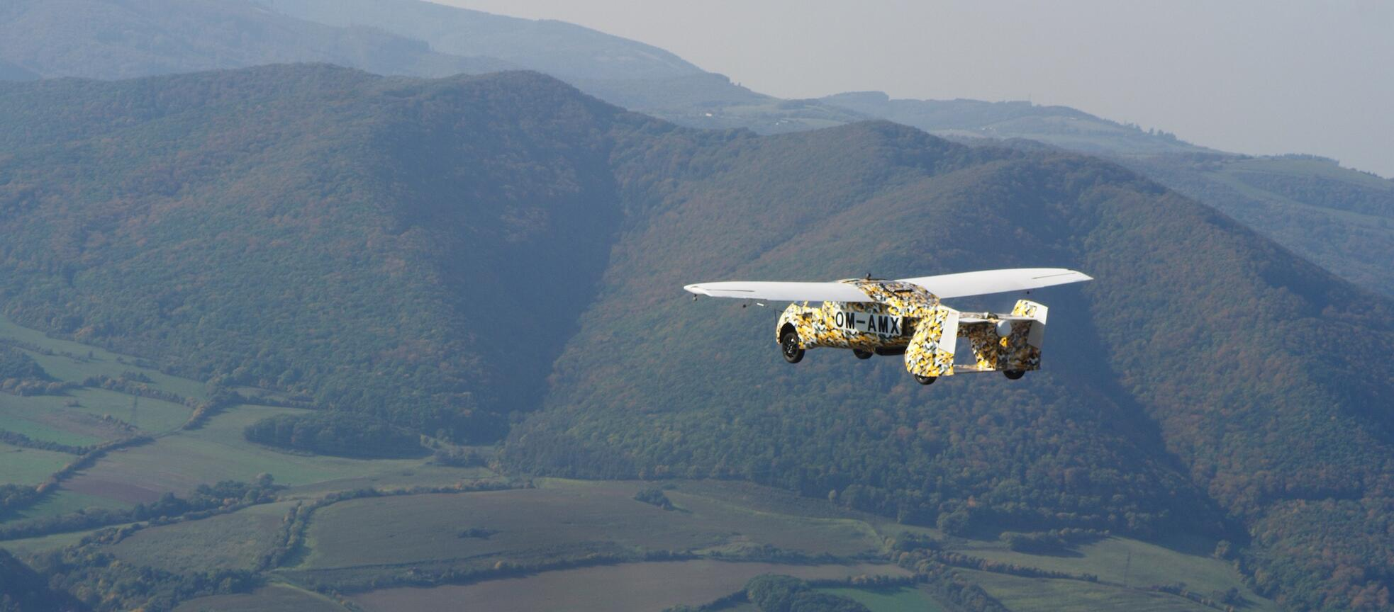 the AeroMobil takes flight