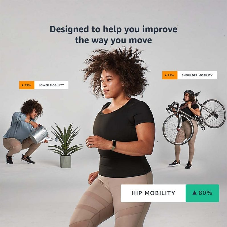 La nueva banda de fitness de Amazon mostrará diferentes puntuaciones de movilidad