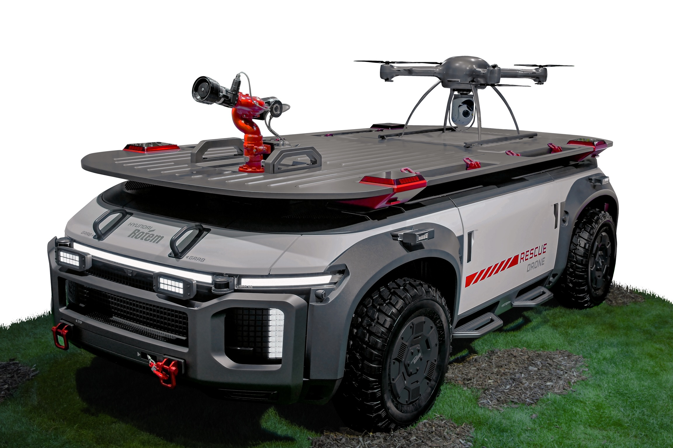 a hydrogen powered rescue drone