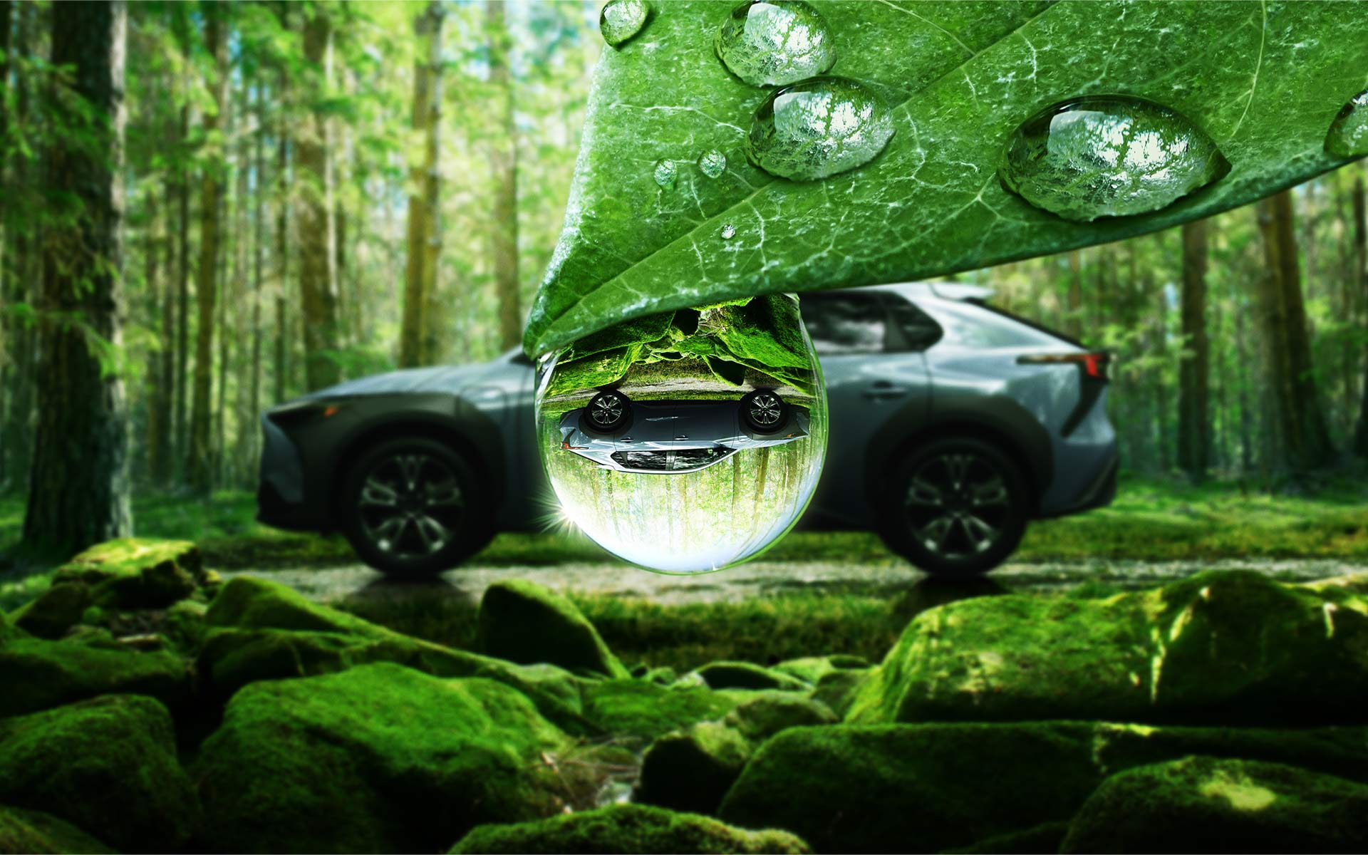 The Subaru Solterra EV
