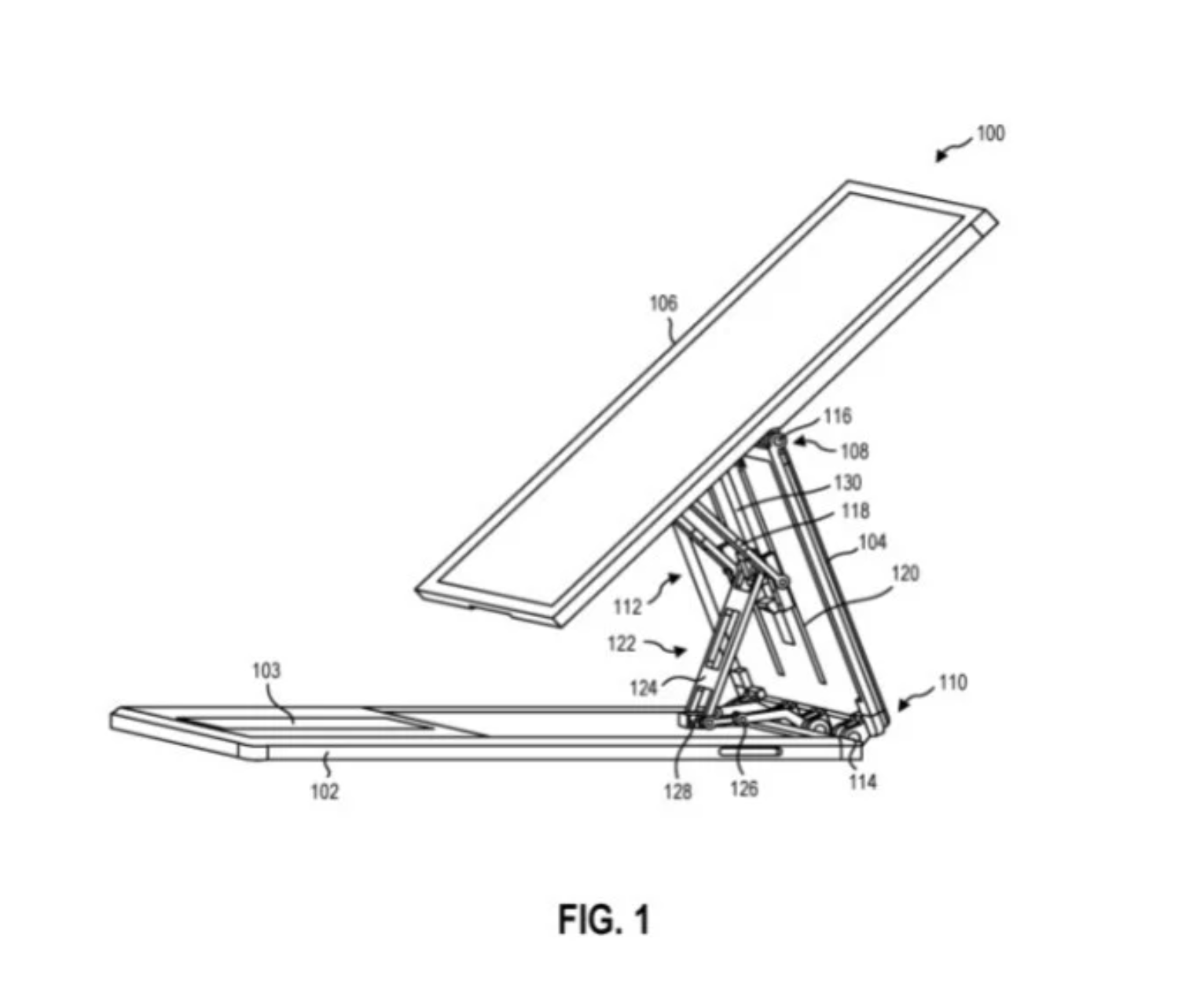 Patent Showing potential Surface Book 3 successor