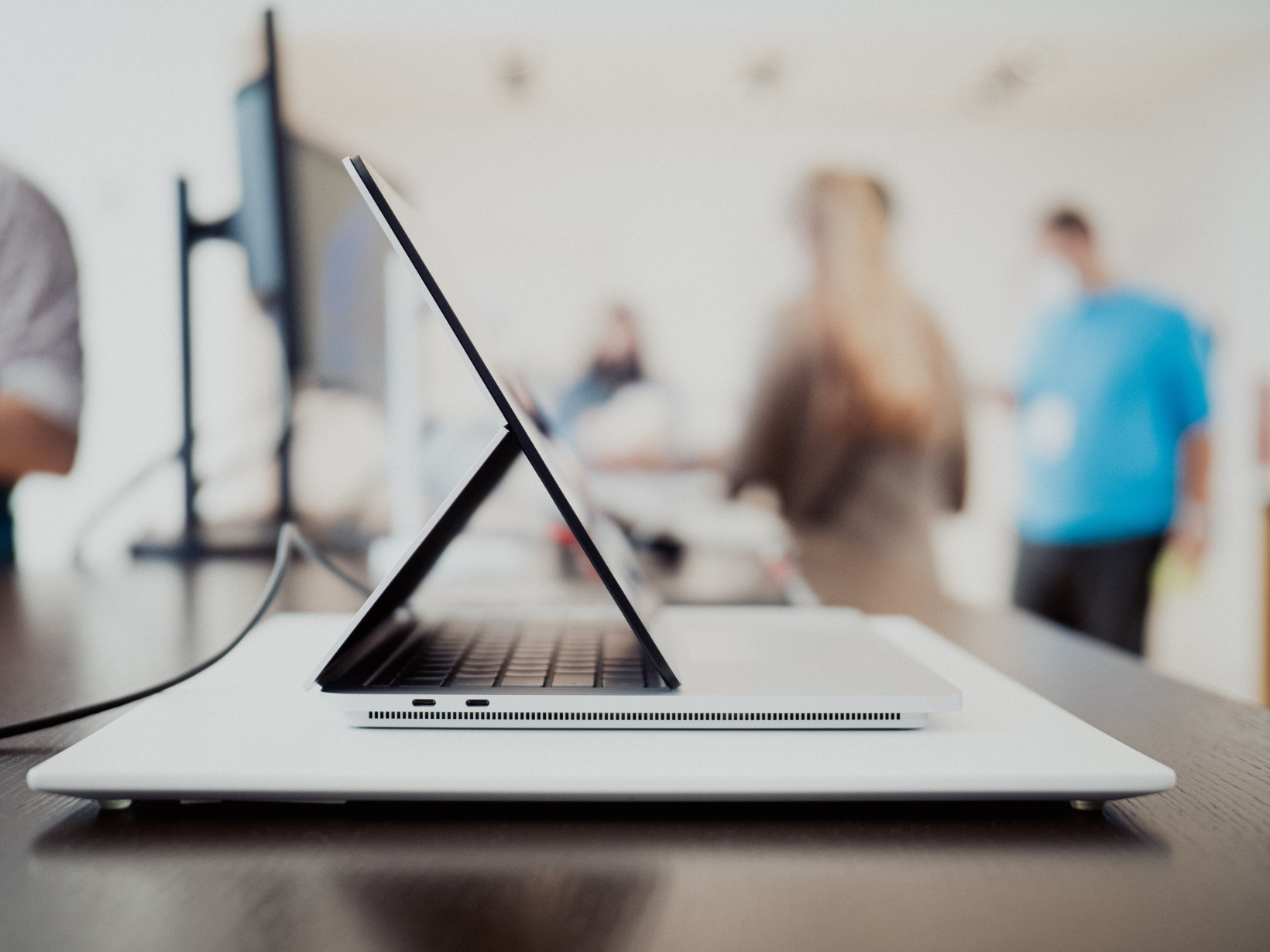 Surface Laptop Studio side view