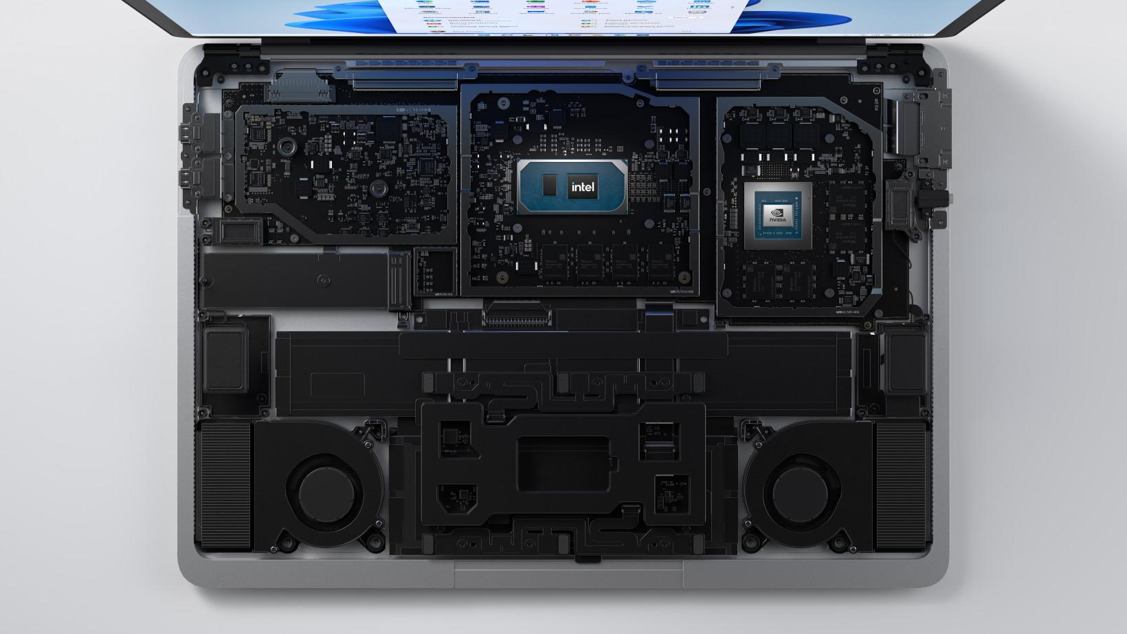 Surface Laptop Studio - Internals_under embargo until September 22