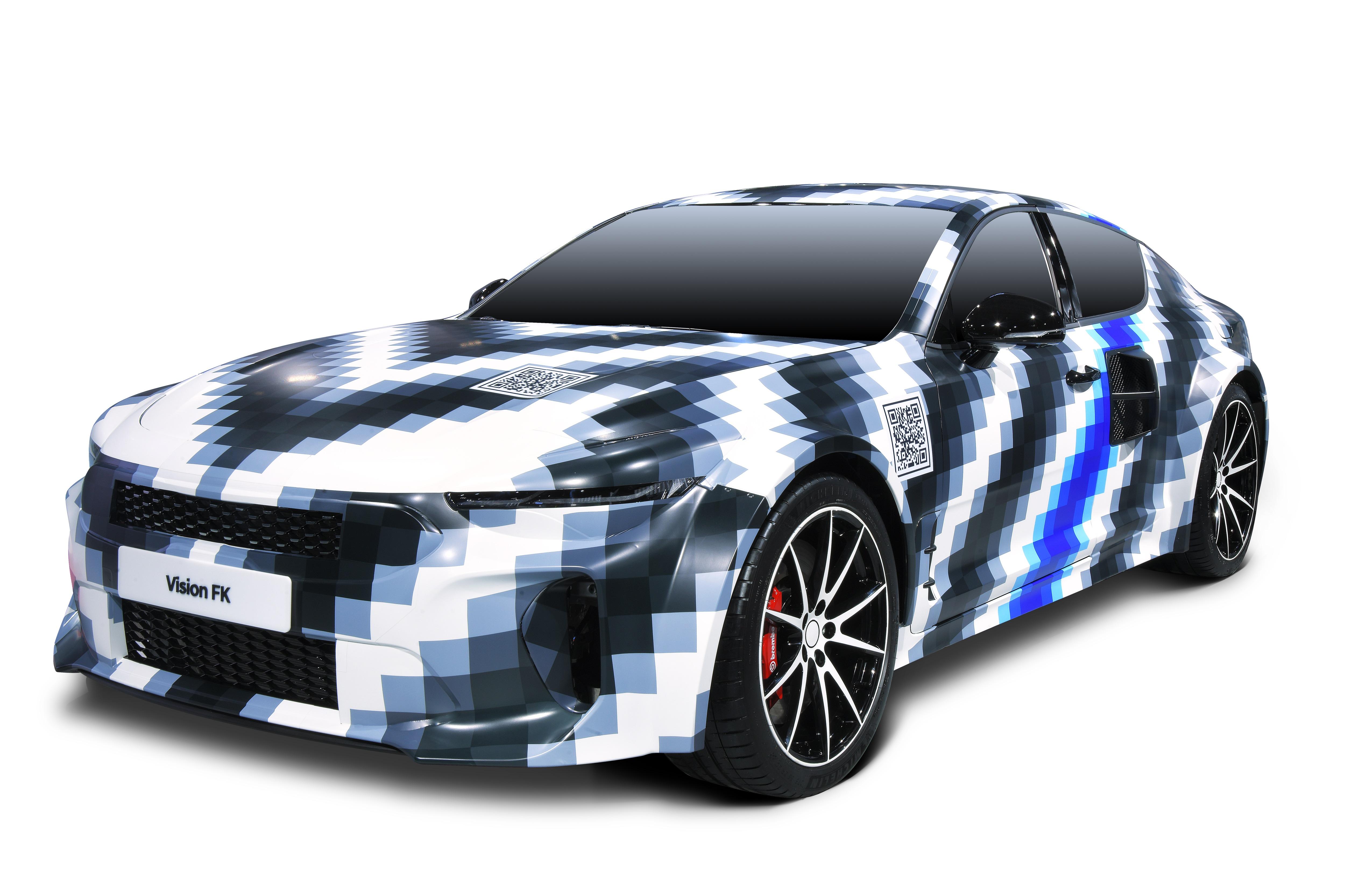 Hyundai share their latest hydrogen sports car