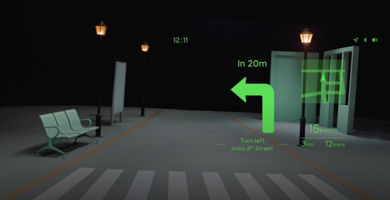 Tầm nhìn của Xiaomi về điều hướng thông qua kính thông minh của nó