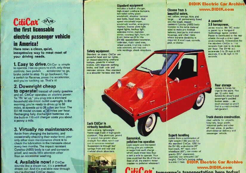 CitiCar EV 1970