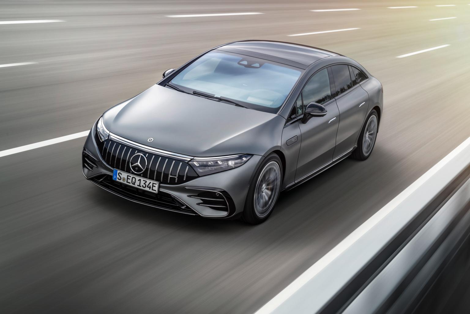 Mercedes-AMG EQS 53 4MATIC+, 2021Mercedes-AMG The EQS 53 4MATIC