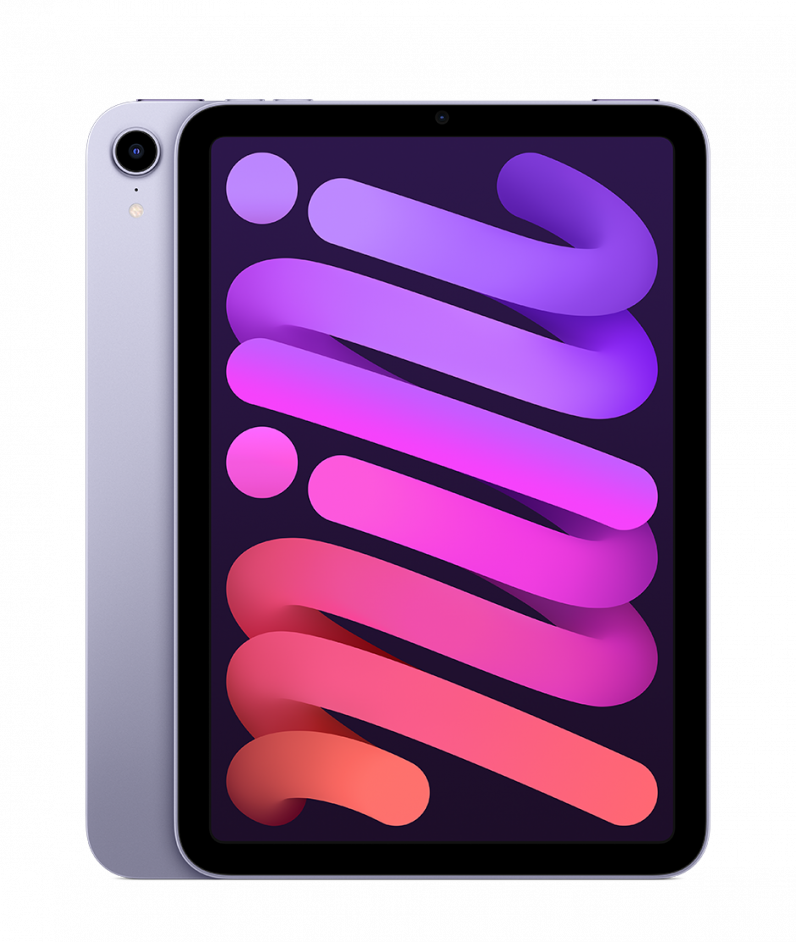 The purple iPad mini
