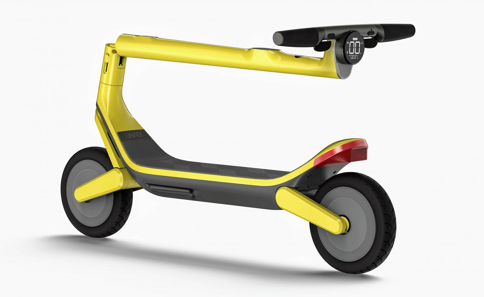 The Model Eleven Scooter folded