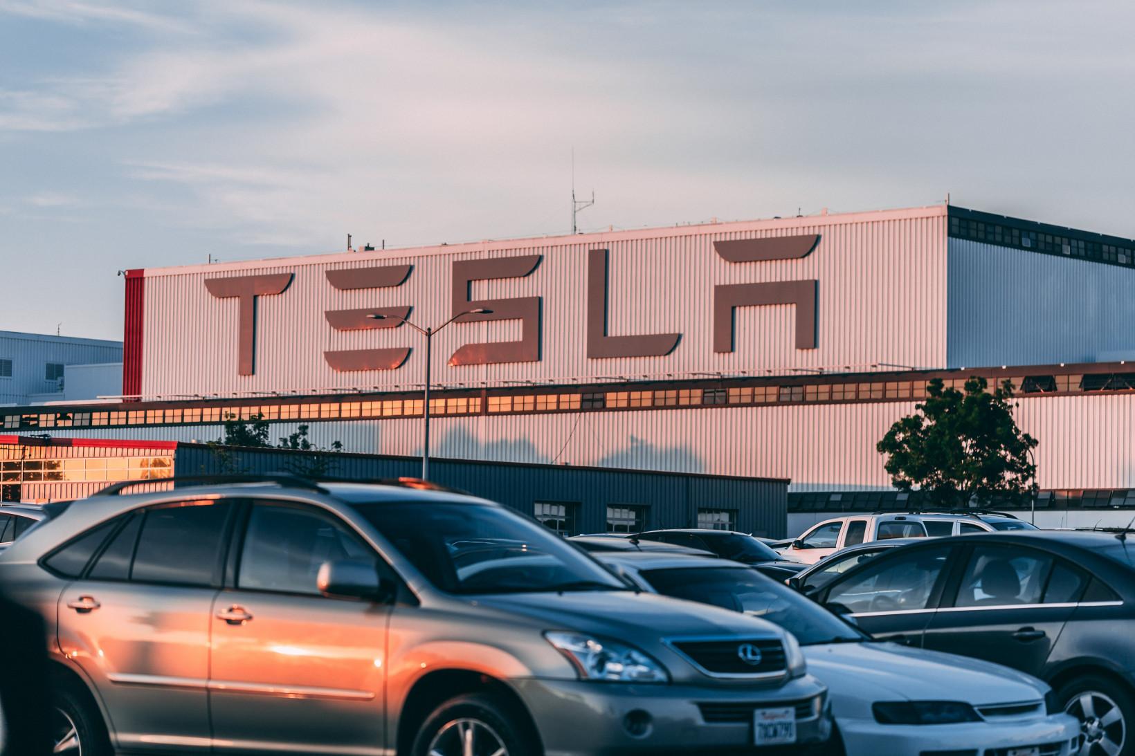Tesla retail outlet