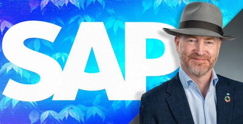 Tom Raftery, SAP logo