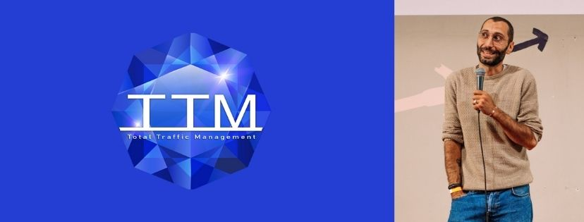Total Traffic Management logo and founder photo