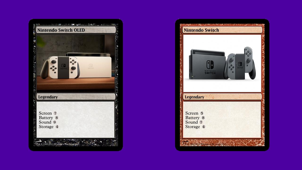 nitendo switch oled review storage